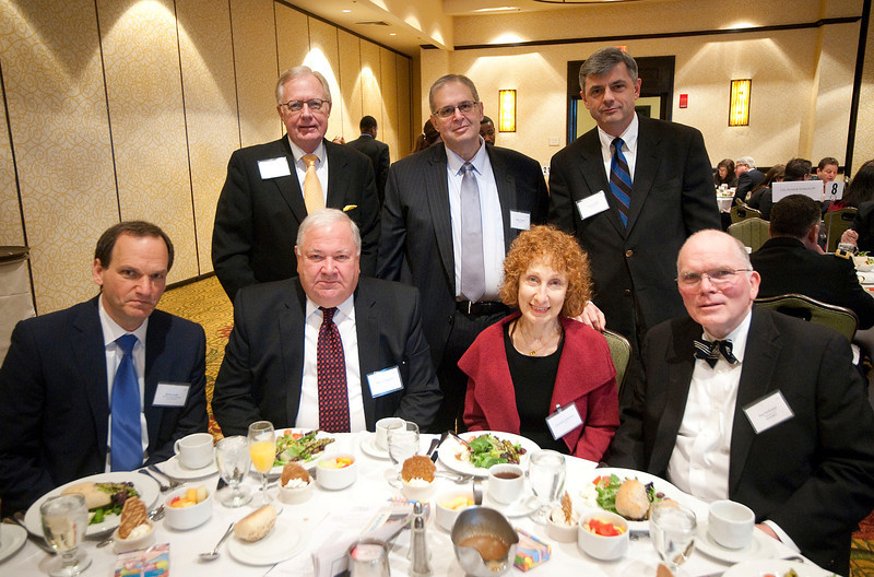 Paul McKenney (bottom right) accepted his Leaders in the Law award in Troy, MI on March 21, 2013.