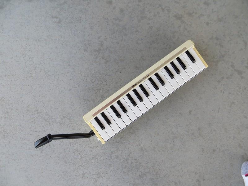 Yamaha Pianica 32 with Hohner Piano 36 mouthpiece