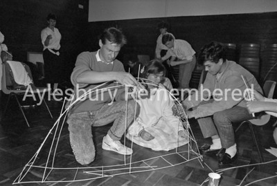 6th Form Day at Mandeville School Sep 1987