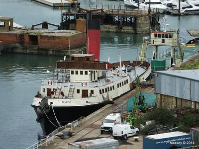 Southampton Docks from RUBY PRINCESS 15 Aug 2014