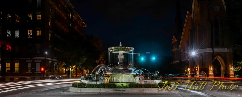 Kenan Memorial Fountain