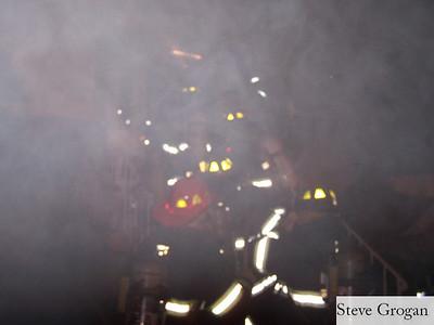 Dawes Ave House Fire 1/9/08