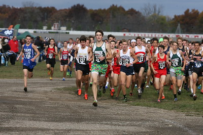 D2 Boys at 500 Meters - 2018 MHSAA LP XC Finals