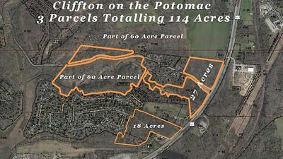 Cliffton on the Potomac - Land 114 Acres