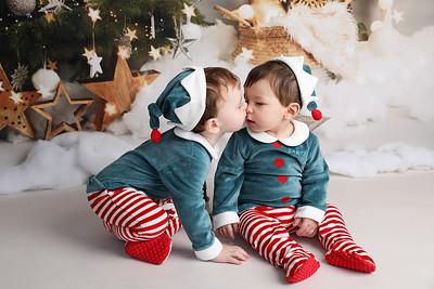 Teddy & Rowan's Christmas session