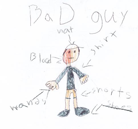 Police kids sketch 1