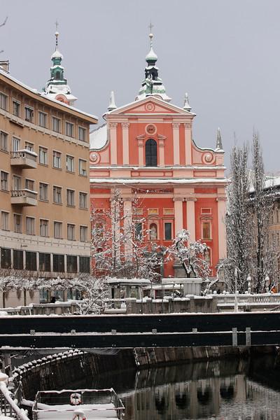 2013-01-15 Ljubljana in the snow