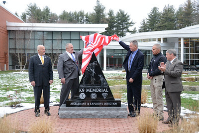 FMO K9 Memorial Dedication - 120716