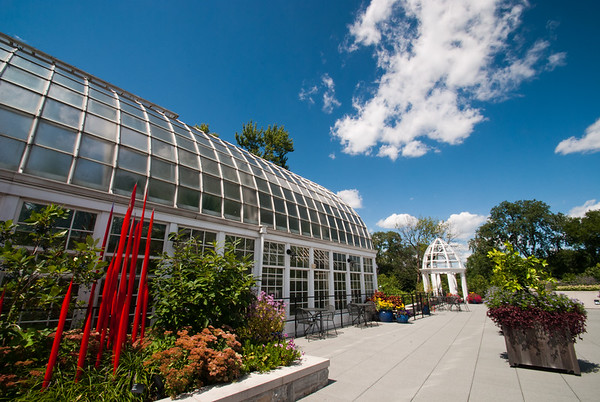 Photo of terrace at Conservatory