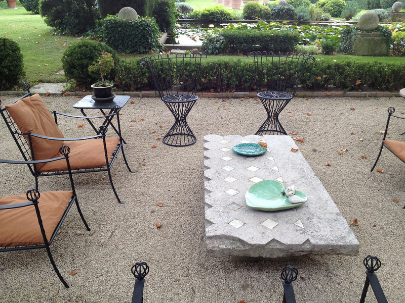 As we would see all over, there are many, many casual places to sit and enjoy the various garden views.
