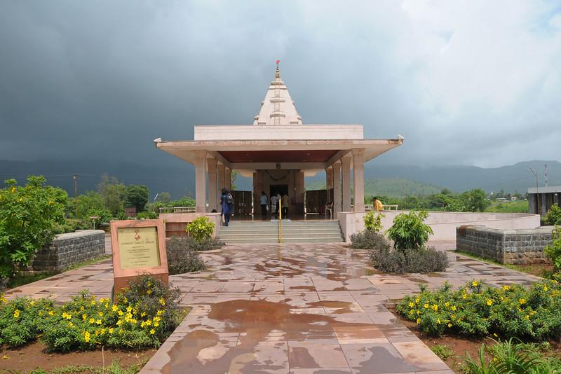 Chinmaya Maruti Mandir which was inaugurated on 25th Dec 2005 by H. H. Swami Tejoymayananda in the presence of H.H. Swami Purushottamananda & H.H. Swami Brahmananda. Hanuman Mandir at the entrance to Chinmaya Vibhooti.Chinmaya Mission's Aacharya Conference, July 2008 held at Chinmaya Vibhooti Vision Centre, Kolwan (near Lonavala/Pune), Maharashtra, India.