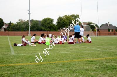 2017-08-21 Ballard JV Girls Soccer vs Elizabethtown