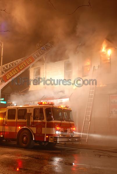 2/27/06 Jersey City, NJ 4th Alarm Westside and Fairmount Ave