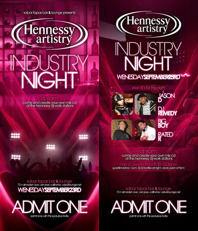 Hennessy Party @ Sabor Tapas Bar & Lounge 9.23.09