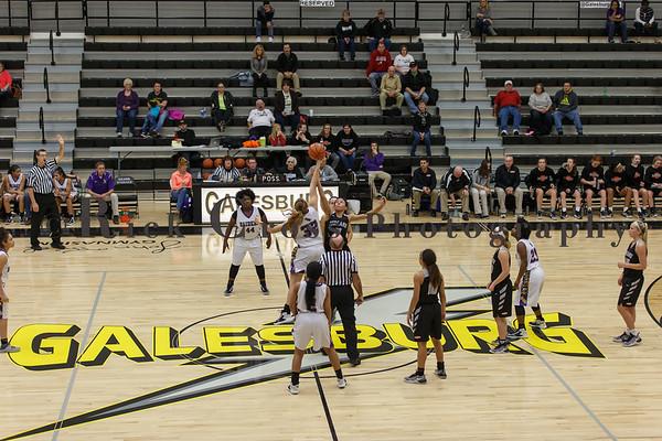 GHS Girls Varsity Basketball vs Bloomington Jan. 21, 2017