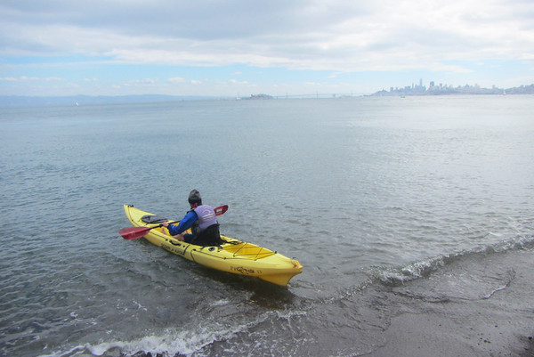 Sausalito Kayaking: Sep 29, 2018