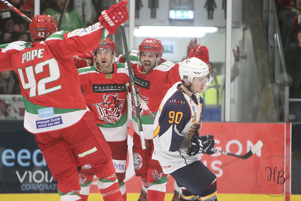 Cardiff Devils vs Guildford Flames 05-12-18