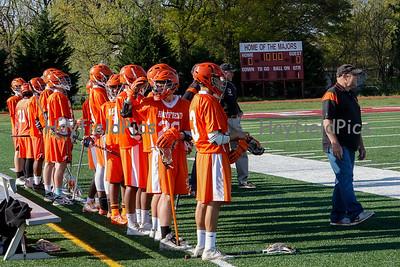 Boys JV Lacrosse v Mount Vernon 4/24/15