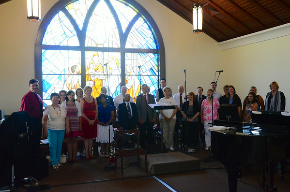 Scenes from Corpus Christi Church June 29 2014