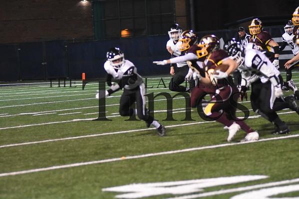 LUHS Football at Menomonie October 25, 2019