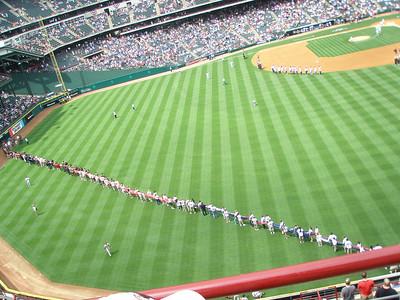 Texas Ranger's Home Opener 2008