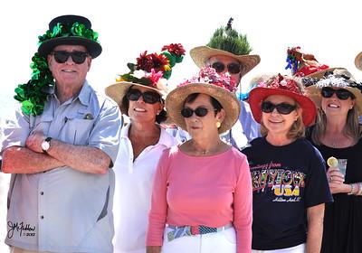 Marsh Tacky Beach Races 2012 Tacky Hat Contest