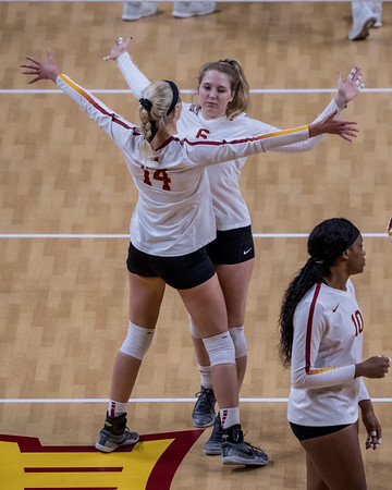 ISU Volleyball vs Drake 11/29/18