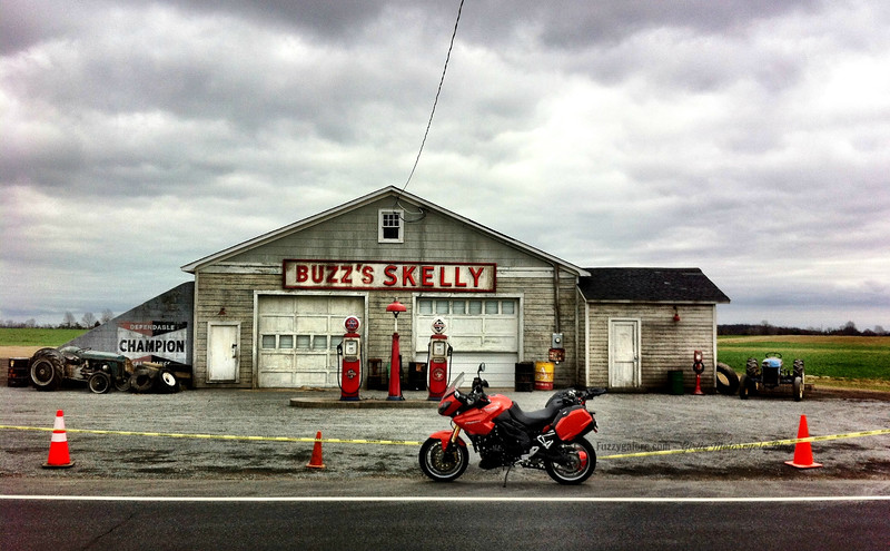 Inside Llewyn Davis Buzz Skelly Gas Station Location