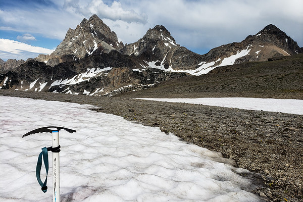 HURRICANE PASS - TETON CREST TRAIL