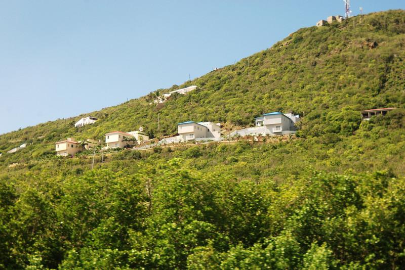 Hillside in St. Maarten, Netherlands Antilles
