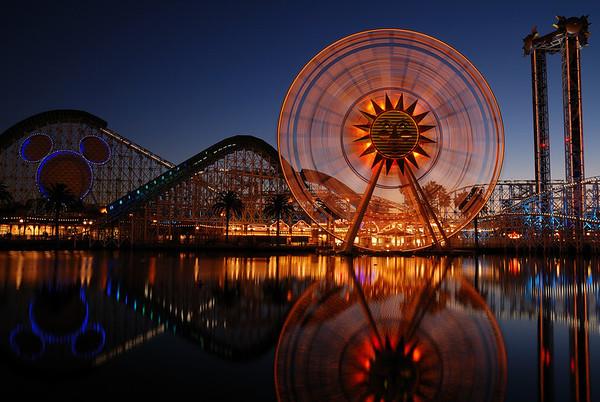 Disneyland at Night - 2.14.08