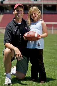 Coach and Grace Harbaugh