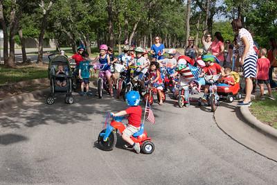 Neighborhood 4th of July Bike Parade