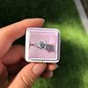 1.19ct Art Deco Carre Cut Diamond Solitaire 29