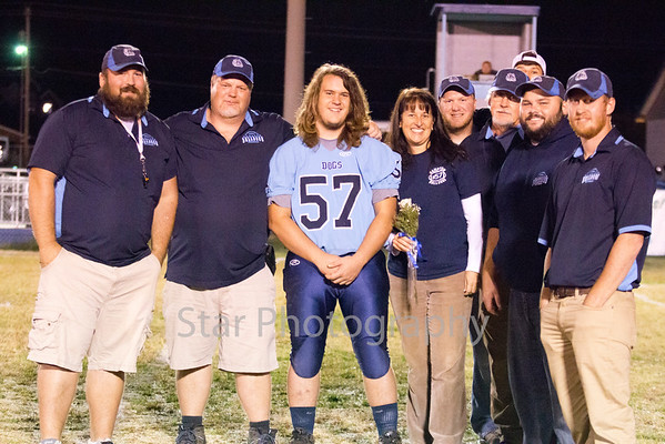 Hampton Fall Senior Night 102916