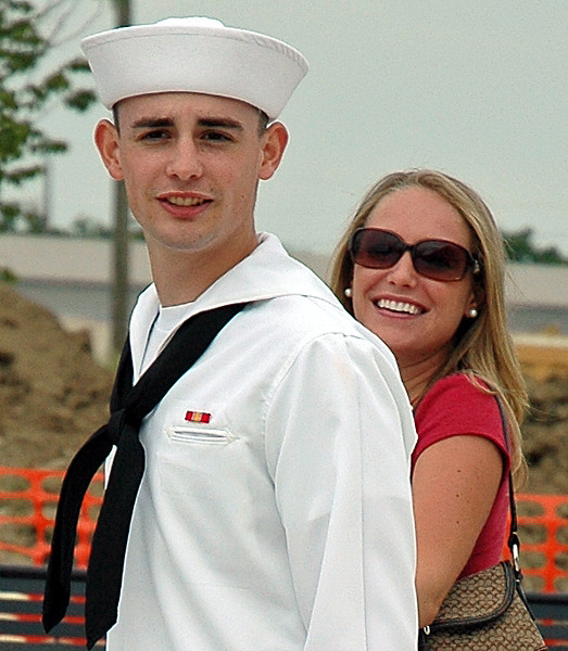 Greg's Graduation from Navy Boot-camp