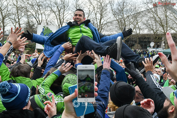 Seattle Sounders MLS Cup March & Rally 2016