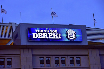 Derek Jeters Final Game at Yankee Stadium 092514