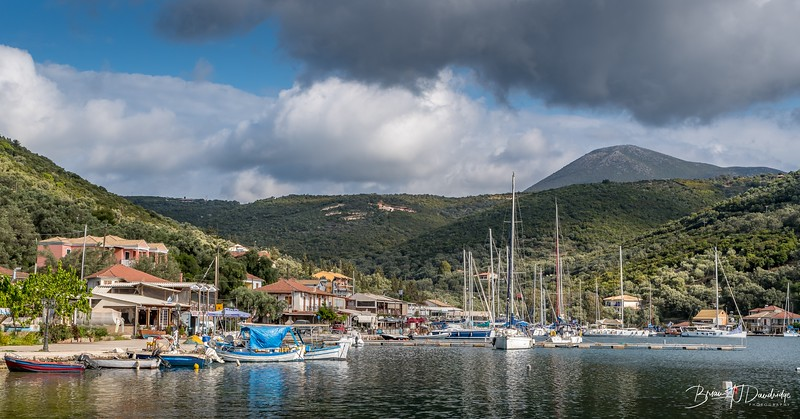 Early season view of Sivota
