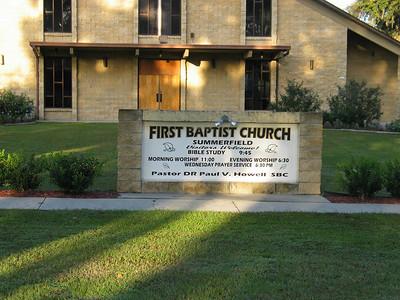 first Baptist Summerfield FL