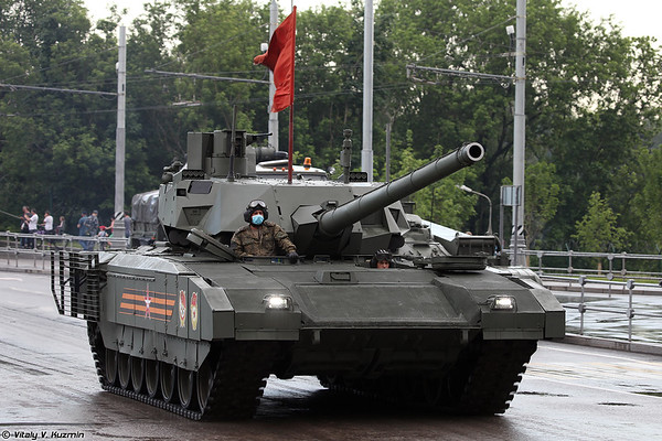June 18th night rehearsal of 2020 Victory Day Parade in Moscow