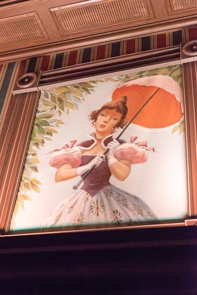Haunted Mansion Parasol Girl - Magic Kingdom Walt Disney World