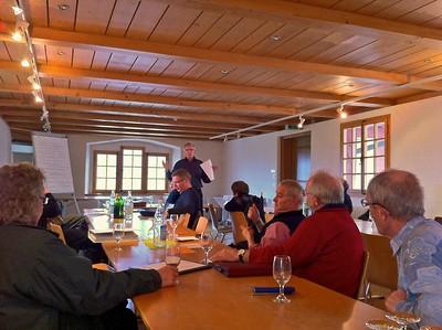 Vorstandssitzung im Schloss Wyher März 2011