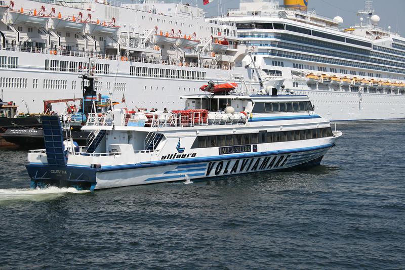 CELESTINA departing from Napoli.