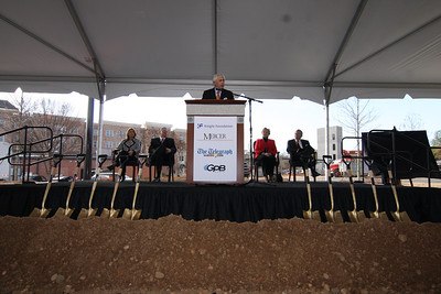 2011 Mercer Village Phase 2 Groundbreaking/Knight Grand Announcement/Journalism Collaboration