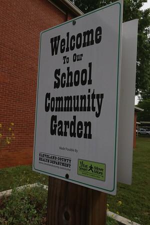 Community Garden Planting Spring 2017