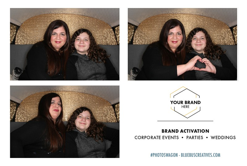 We're ready for all those upcoming holiday and employee appreciation parties! Now's the time to book! Head to www.bluebuscreatives.com to secure your date for the PhotoSwagon or our open-air booth.  Our photo booths are also a perfect way to activate your brand at events, trade shows, concerts, festivals and more!