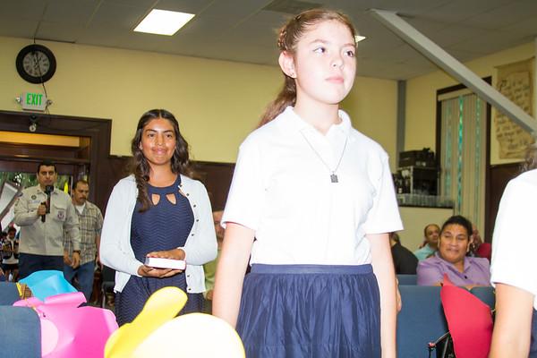 Graduación local de Misioneritas (Girl's Ministry) 2017