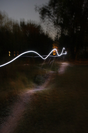 Pump Track at Night