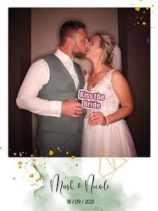 Bruiloft Mark en Nicole